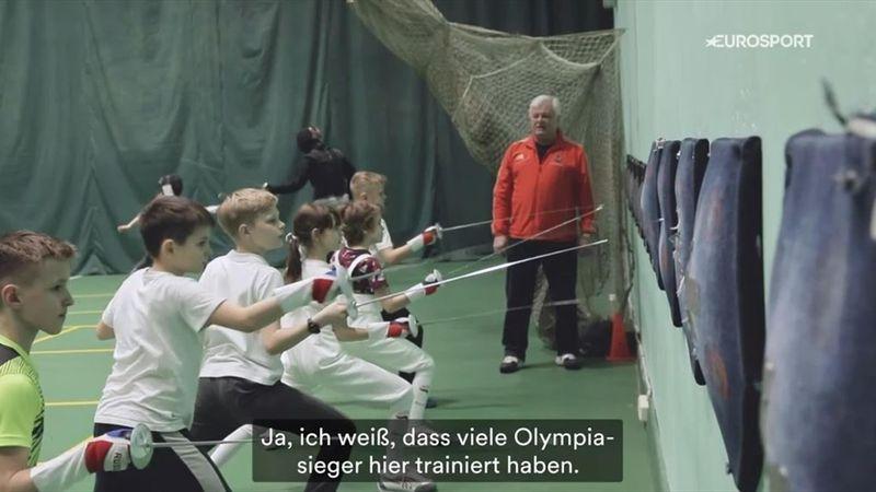 """""""Wir sind zum Siegen geboren"""": Der Olympia-Traum der Fecht-Talente"""