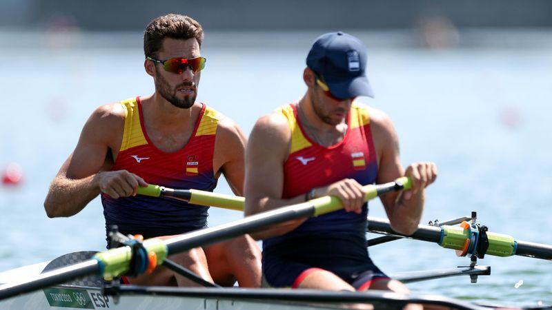 Remo | Canalejo y García, sextos en la final del dos sin timonel masculino
