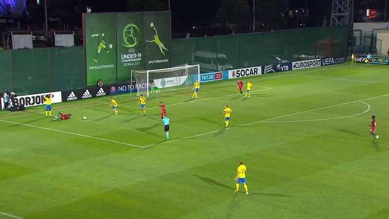 Europeo Sub 19, Suecia-Portugal: Empate luso a tres minutos del final (2-2)