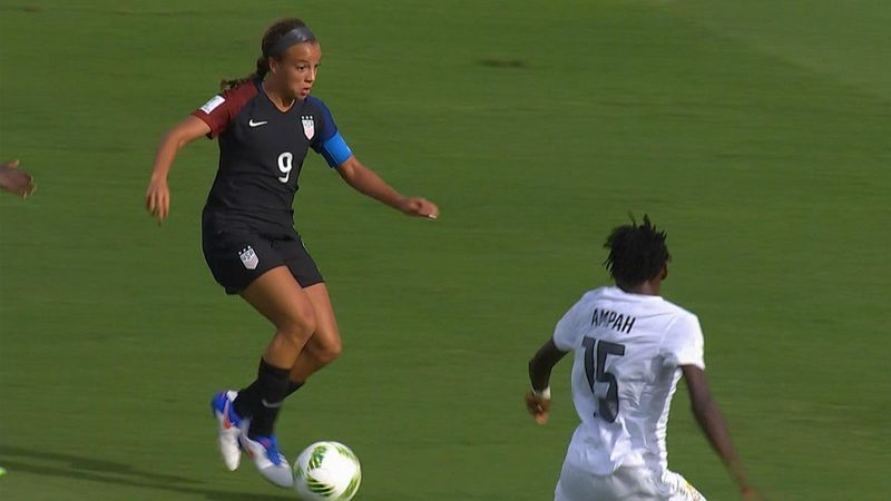 Mondiali femminili U20: USA-Ghana 1-1, gli highlights