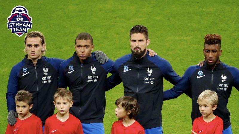 """Coman, Mbappé, Giroud, Griezmann : Reverra-t-on les Bleus en mode """"Playstation"""" ?"""