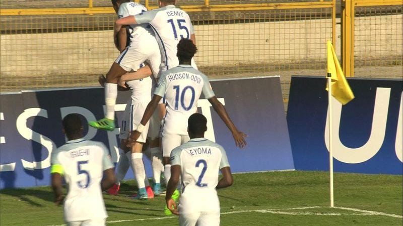U17-EM semifinale: Tyrkia - England
