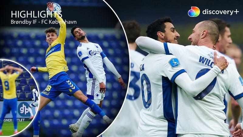 Highlights: Drama i de døende minutter blev afgørende for FCK i derby-opgør på Vestegnen