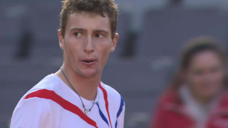 ATP Hamburg: Passing shot spectaculos reușit de Ugo Humbert în partida cu norvegianul  Casper Ruud