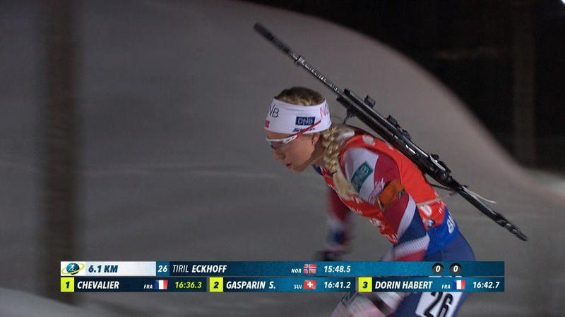 Biathlon Women's Sprint : Tiril Eckhoff's race