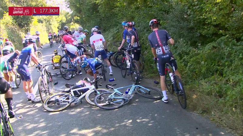 Tour of Britain   Etap #2 - Kaza