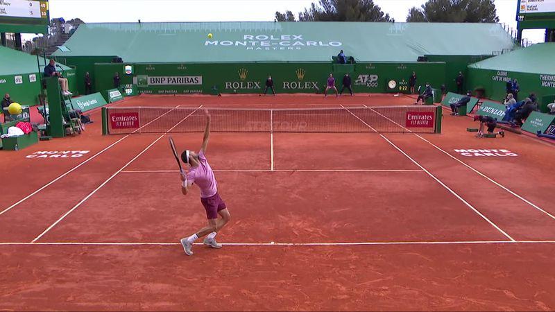 ATP Monte Carlo  Rezumatul partidei Nadal - Dimitrov