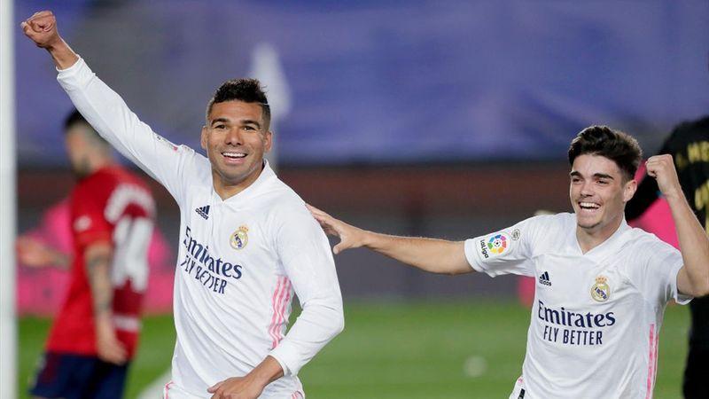 Resumen Real Madrid-Osasuna: Licencia para soñar