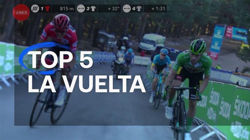 Top 5 rides of La Vuelta - including Carthy's Angliru masterpiece