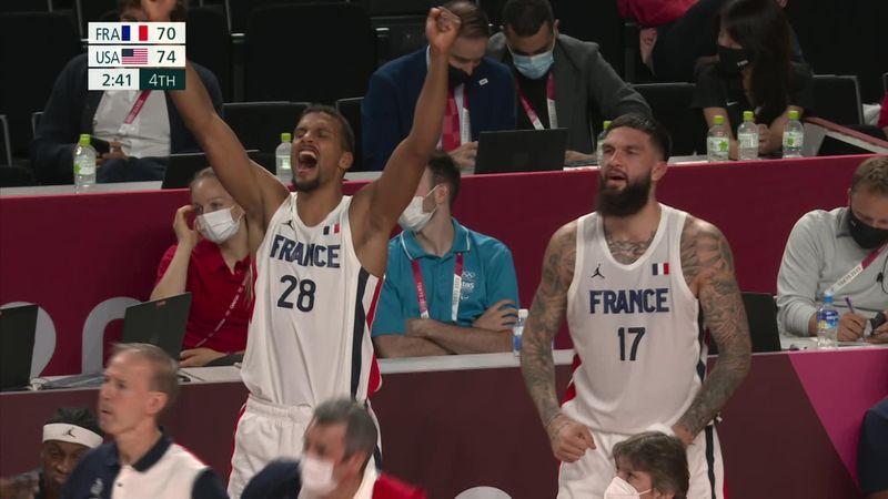 Токио-2020 - France  против USA - Баскетбол – Главные события Олимпиады