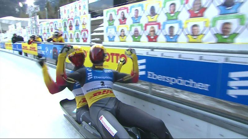 Eggert-Benecken campioni del mondo nel doppio