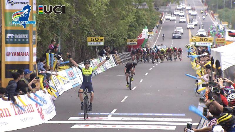 Tour of Taiwan: Cameron Bayly trionfa nella 4a tappa, battuto Piper in volata!