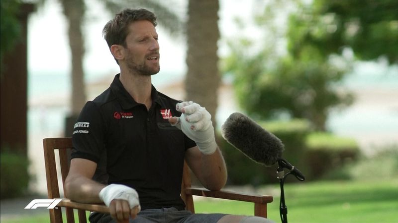 """Grosjean: """"Tra le fiamme urlavo 'Non posso morire oggi!'"""""""