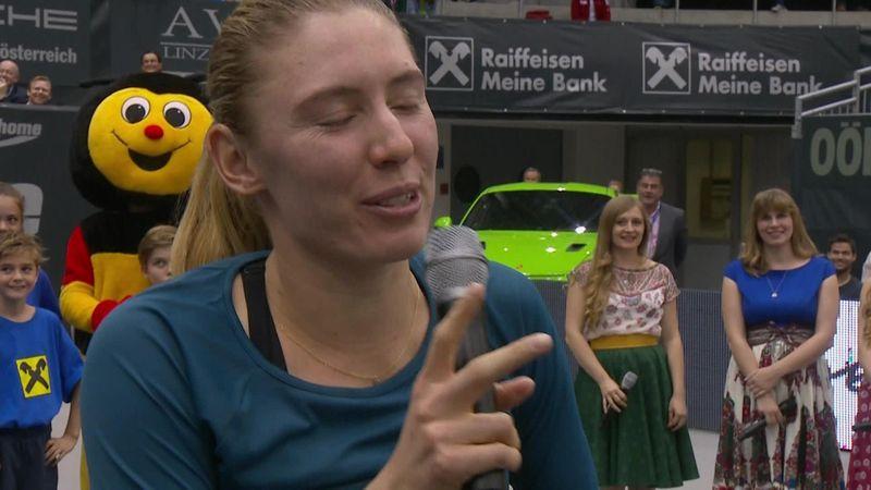 Alexandrova happy despite final loss