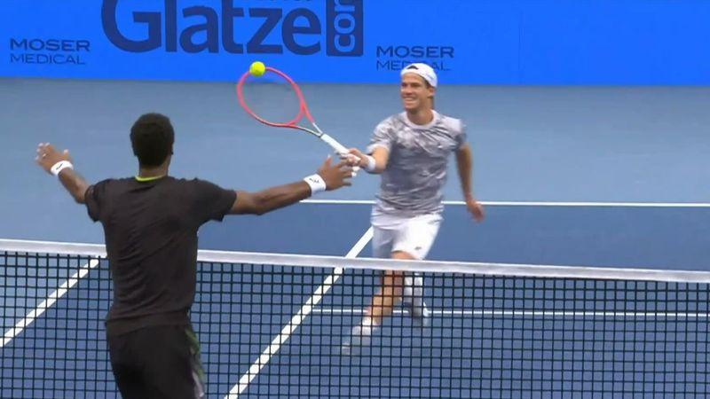 Grandios: Monfils und Schwartzman liefern große Tennis-Show