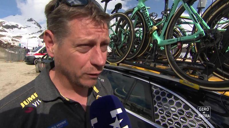 """Jan Boven (Jumbo-Visma):  """"Gaat heel spannend worden om het algemeen klassement"""""""