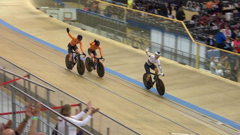 Países Bajos también conquista el oro en el esprint femenino por equipos
