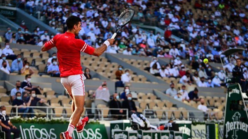 Djokovic gewinnt surreale Rally - das Publikum kocht