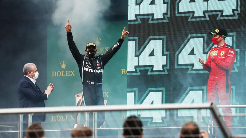 Remarkable Hamilton equals Schumacher's tally of seven world titles