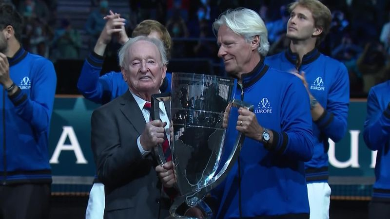 'They got the job done! - Team Europe lift the Laver Cup