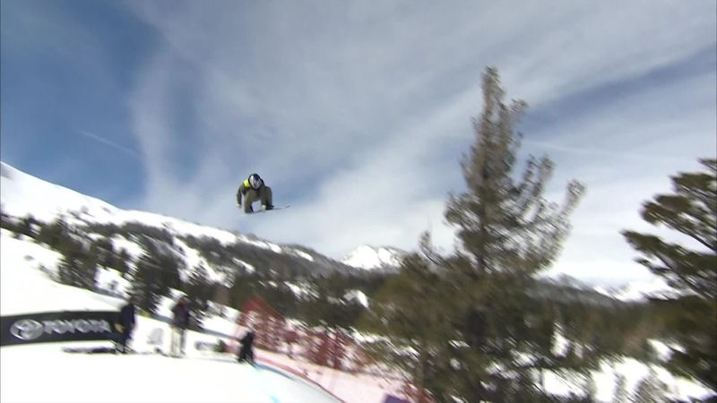 Henkes claims 2nd place at Mammoth Mountain