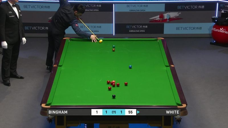 'That is absolutely brilliant!' – White shows his class against Bingham