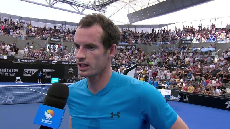 """Murray : """"Cela a été compliqué pour moi ces derniers mois, j'essaye juste de profiter"""""""
