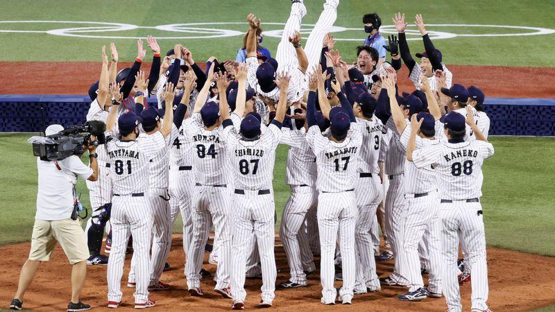 Tokyo 2020 | Honkballers Japan kloppen Team USA in droomfinale