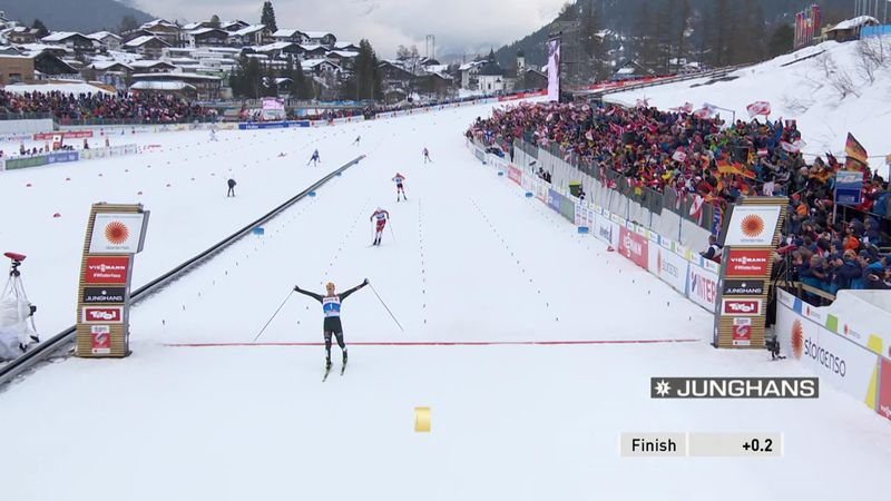 Frenzel takes Large Hill title in Seefeld