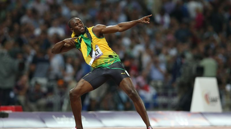 See how Usain Bolt broke the 100m world record in Beijing 2008 Olympic Games