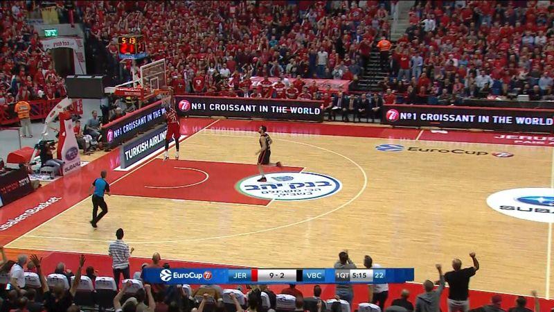 Eurocup: El Valencia Basket cae en Israel y buscará el pase en la Fonteta (79-66)
