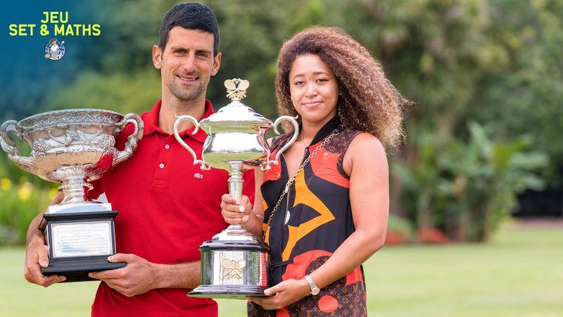 Djokovic et Osaka, monstres de stats mais pas encore références absolues