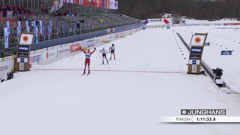 Большунов раскатал Норвегию – насладись победным финишем