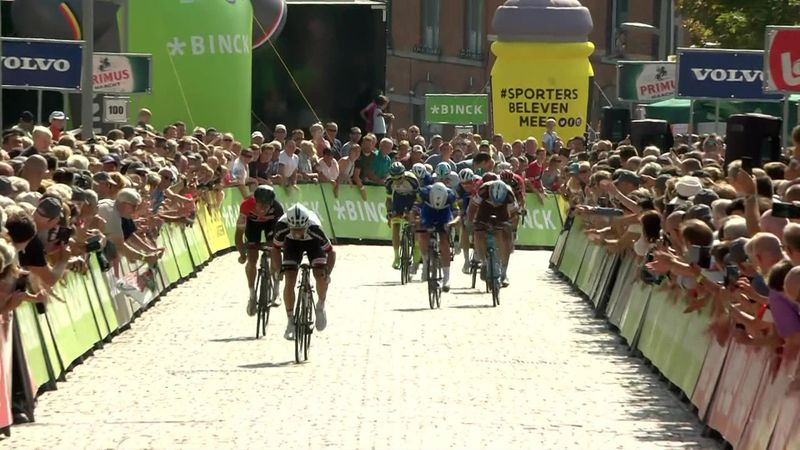 Jasper Philipsen, victorie impresionantă în prima etapă din Binck-Bank Tour
