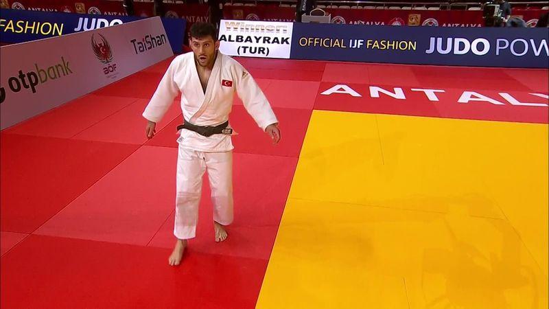 Grand Slam Antalya: bravo Parlati, ma vince Albayrak nei -81kg