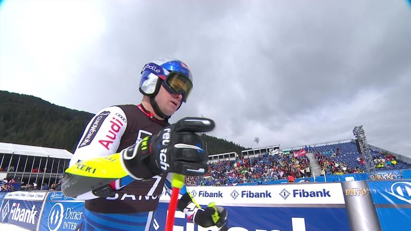 Watch Alexis Pinturault's Super G run