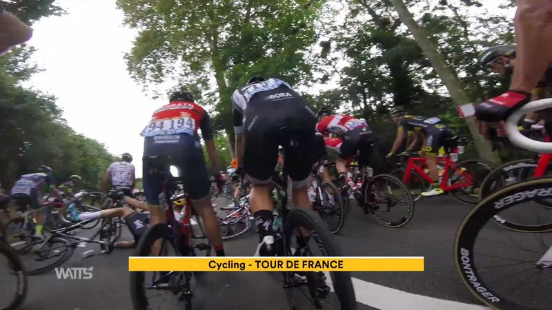 Three of the funniest moments from the Tour de France