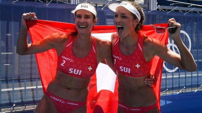 Tokyo 2020 | Brons voor Zwitserse beachvolleybal dames