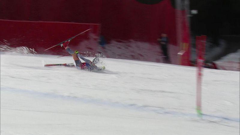 Esquí, Hinterstoder: La caída del noruego Kilde que le aleja de la lucha por la Copa del Mundo