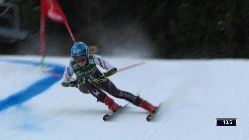 Shiffrin edges into lead in Semmering Giant Slalom