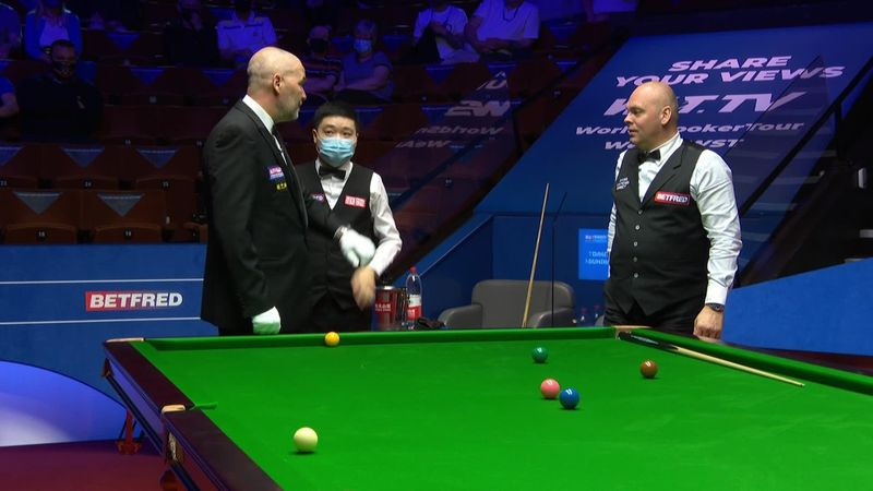 'You're joking?' – Bingham dismayed as match paused with one frame left