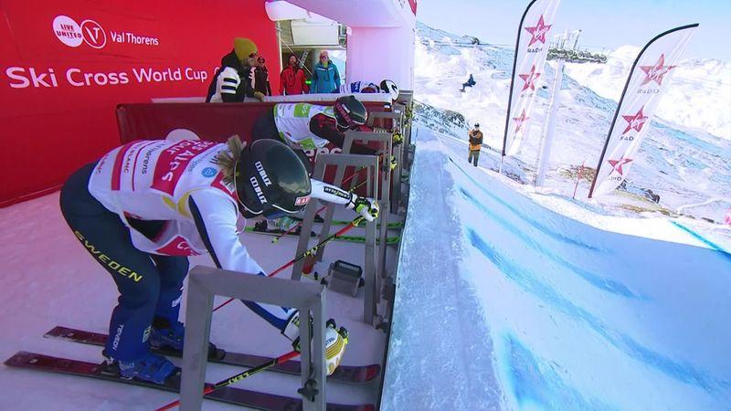 Esquí cross, Copa del Mundo: Naeslund se impone en solitario a las canadienses