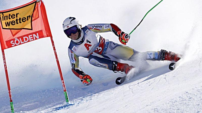 Braathen claims maiden World Cup win at season-opening Soelden