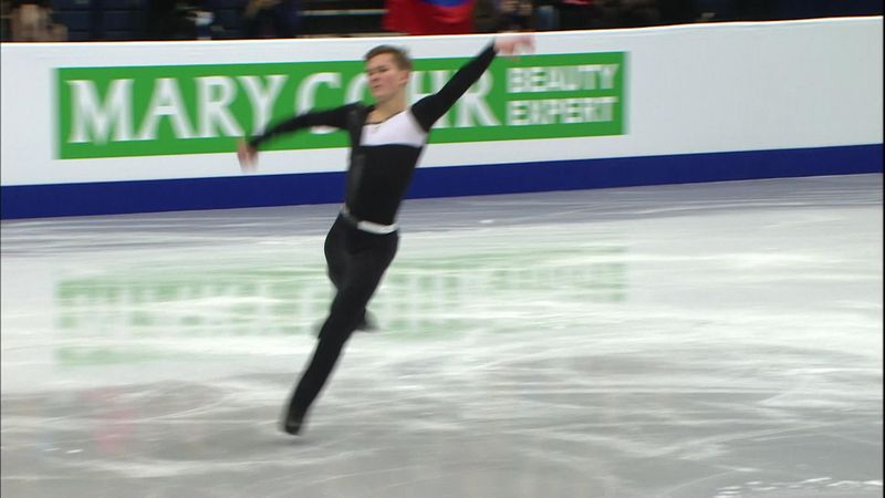 Mickail Kolyada leads short track in Minsk