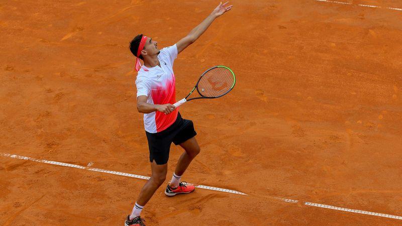 ATP Cagliari: Sonego - Djere döntő, összefoglaló