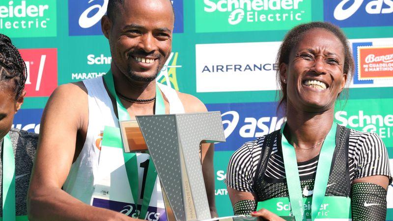 Marathon van Parijs | Milaw en Burka zorgen voor Ethiopische dubbel