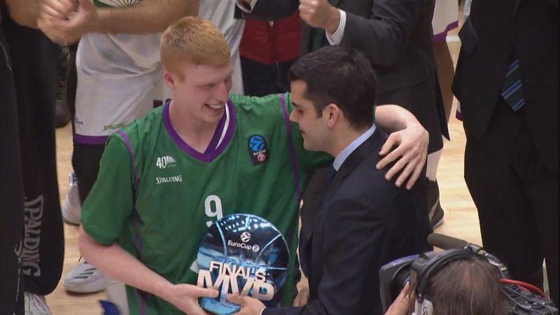 Alberto Díaz, merecido MVP de la final de la Eurocup