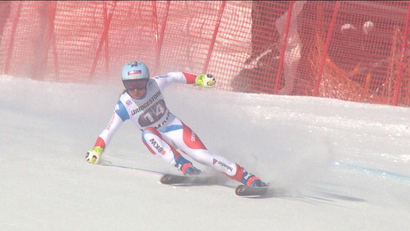 Flury estrena su palmarés a lo grande con su triunfo en el SuperGigante de St. Moritz