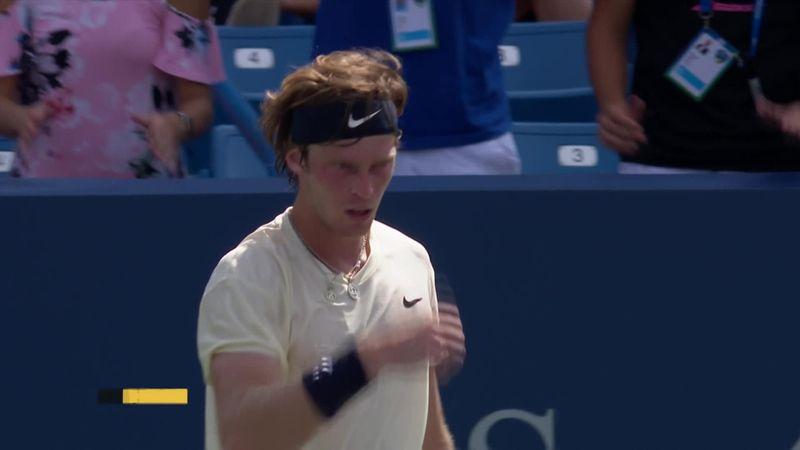 Andrey Rublev, revenire impresionantă în semifinala de la Cincinnati, cu Medvedev