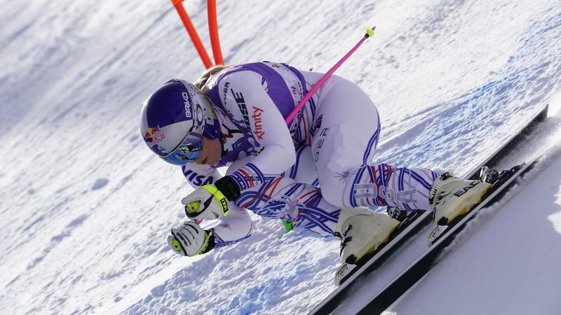 Vonn's comeback continues apace with strong showing in Cortina d'Ampezzo